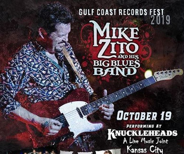 Gulf Coast Records Fest 2019, Knuckleheads Saloon, Oct. 19, Rock and Blues Muse