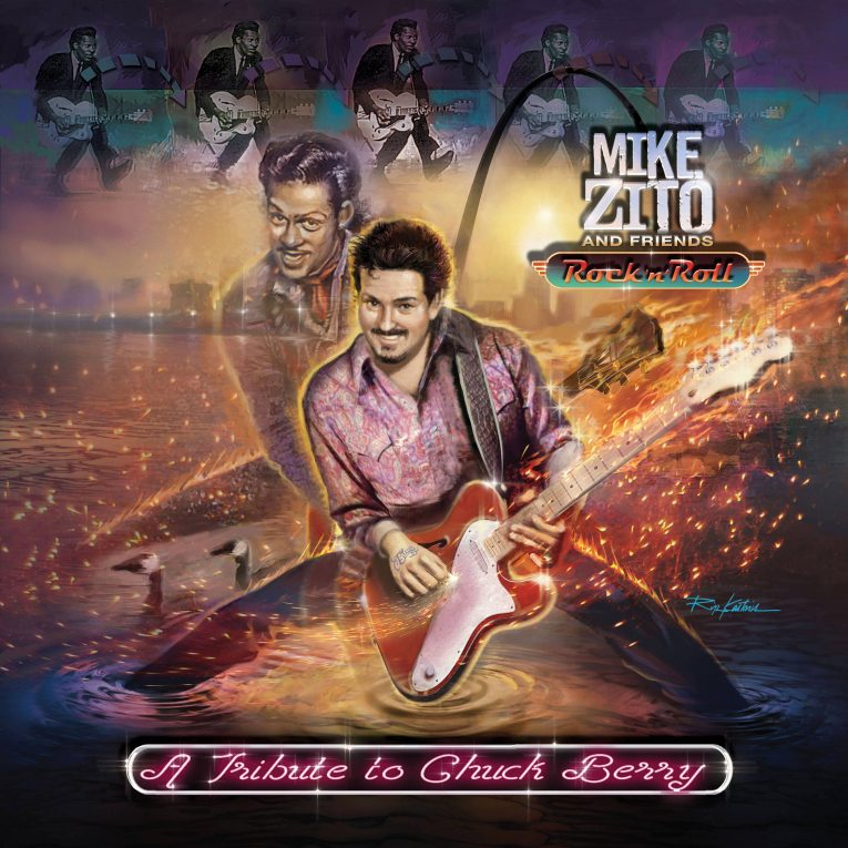 Mike Zito, Walter Trout, Johnny B Goode, new video, Rock N Roll: A Tribute To Chuck Berry, Rock and Blues Muse