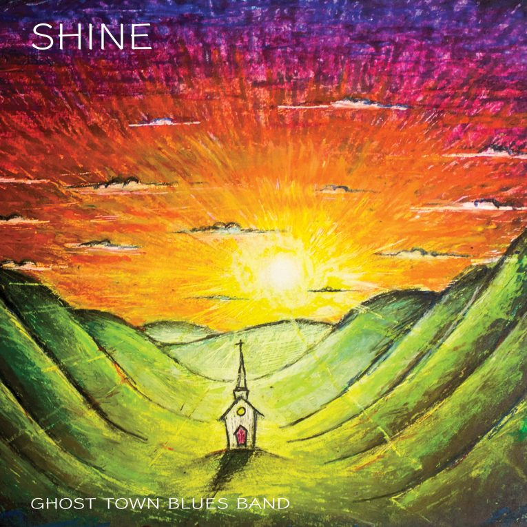 Ghost Town Blues Band, Shine, album review, Rock and Blues Muse