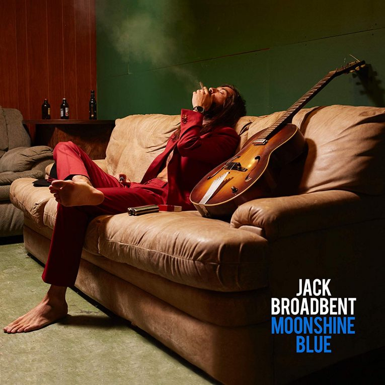 Jack Broadbent, Moonshine Blue, album review, Rock and Blues Muse