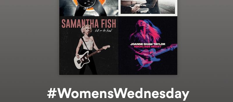 Great Modern Female Rock Blues Artists