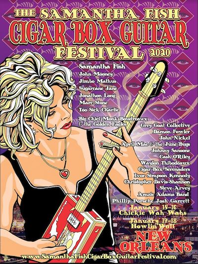 The Samantha Fish Cigar Box Guitar Festival