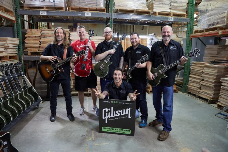 Gibson Plays It Forward With Guitars For Vets Program, Rock and Blues Muse