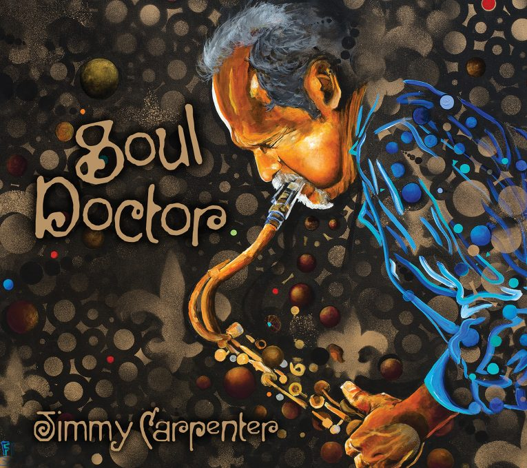 Soul Doctor, Jimmy Carpenter, album review, Rock and Blues Muse