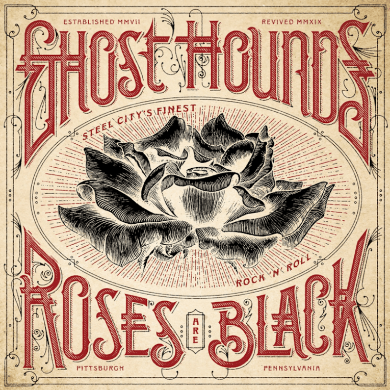 Ghost Hounds, Roses Are Black, album review, Rock and Blues Muse