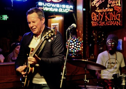 Guy King, gig review, Maui Sugar Mill, Martine Ehrenclou, Rock and Blues Muse