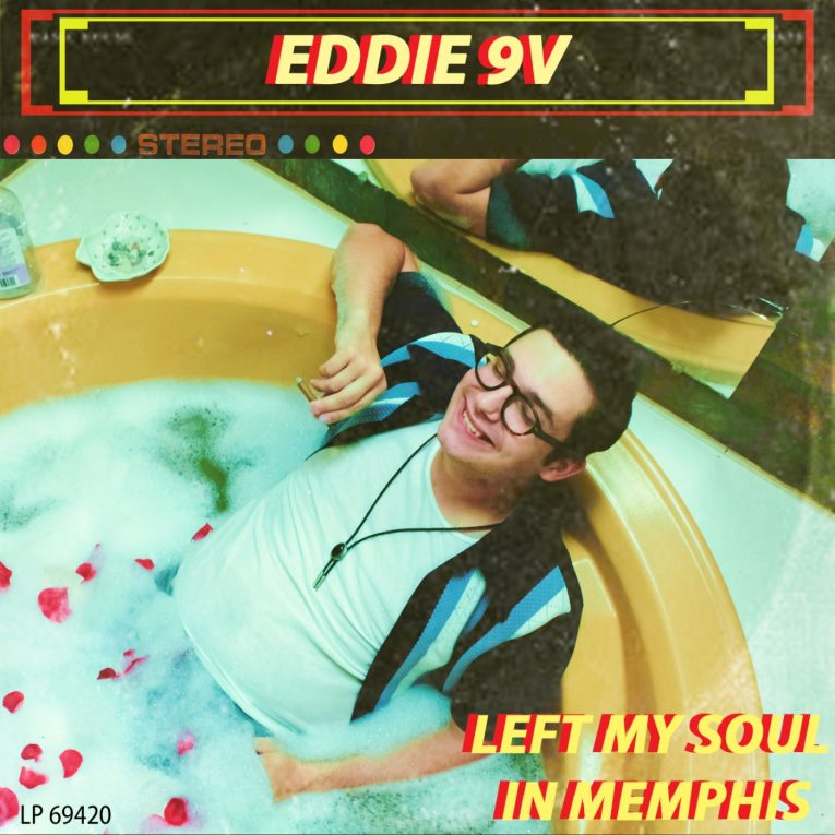 Eddie 9V, Left May Soul In Memphis, album review, Rock and Blues Muse