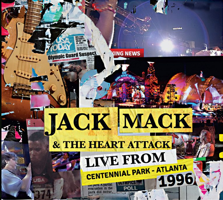 Jack Mack & The Heart Attack, Live From Centennial Park Atlanta 1996, album review, Rock and Blues Muse