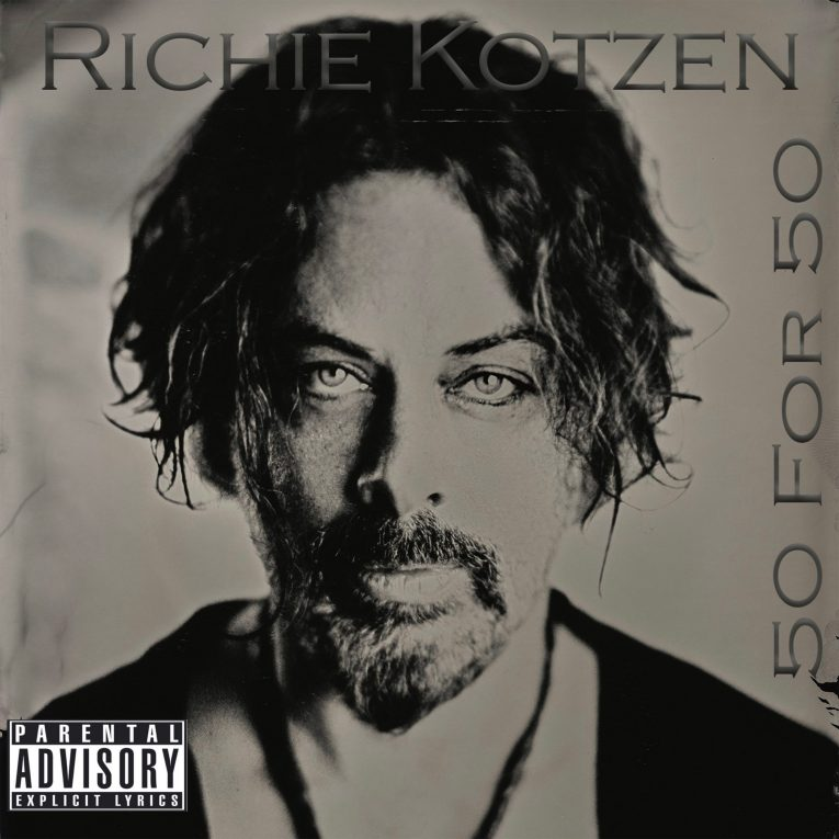 Richie Kotzen, new album announcement, 50 for 50, out Feb. 3rd, Rock and Blues Muse