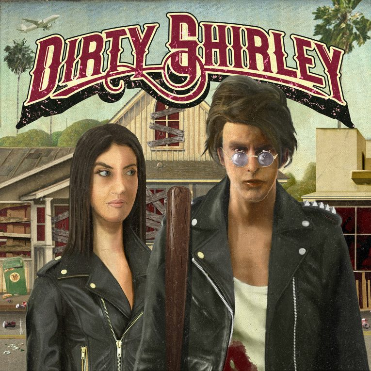 Dirty Shirley, album review, Rock and Blues Muse