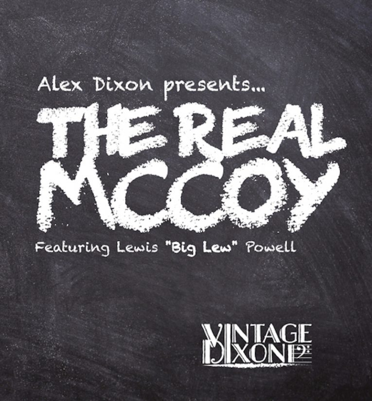 Alex Dixon, Album announcement, single release, The Real McCoy, Rock and Blues Muse