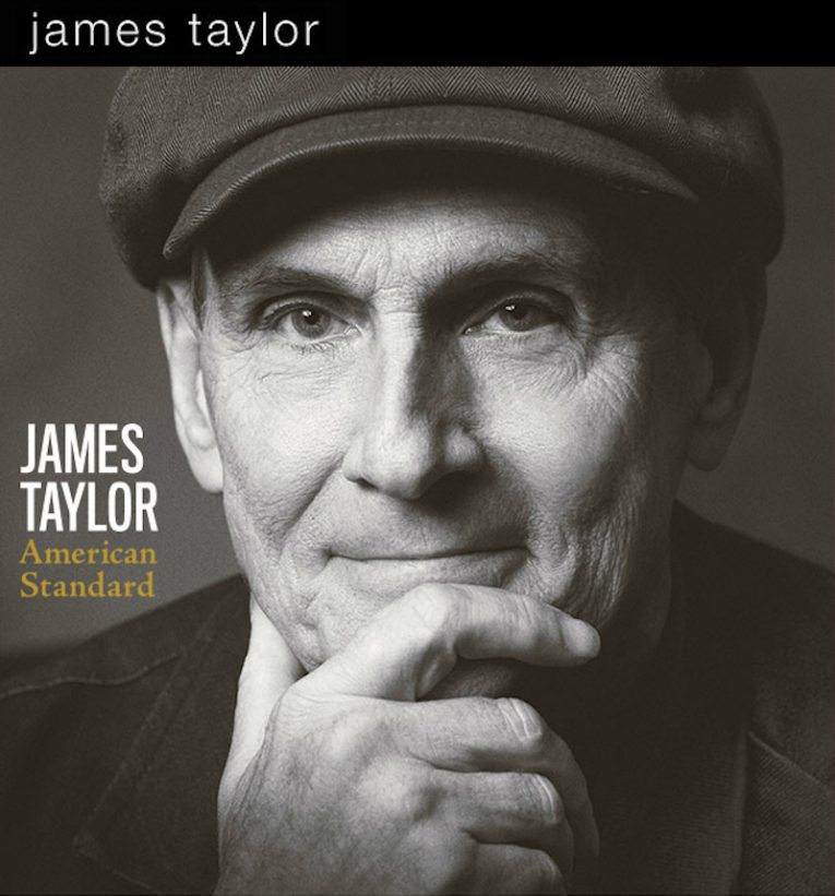 James Taylor, new album announcement, American Standard, Rock and Blues Muse