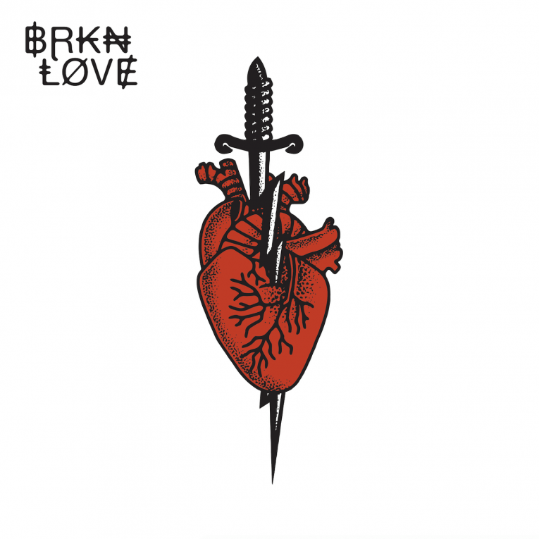 BRKN Love, self-titled debut, album review, Rock and Blues Muse