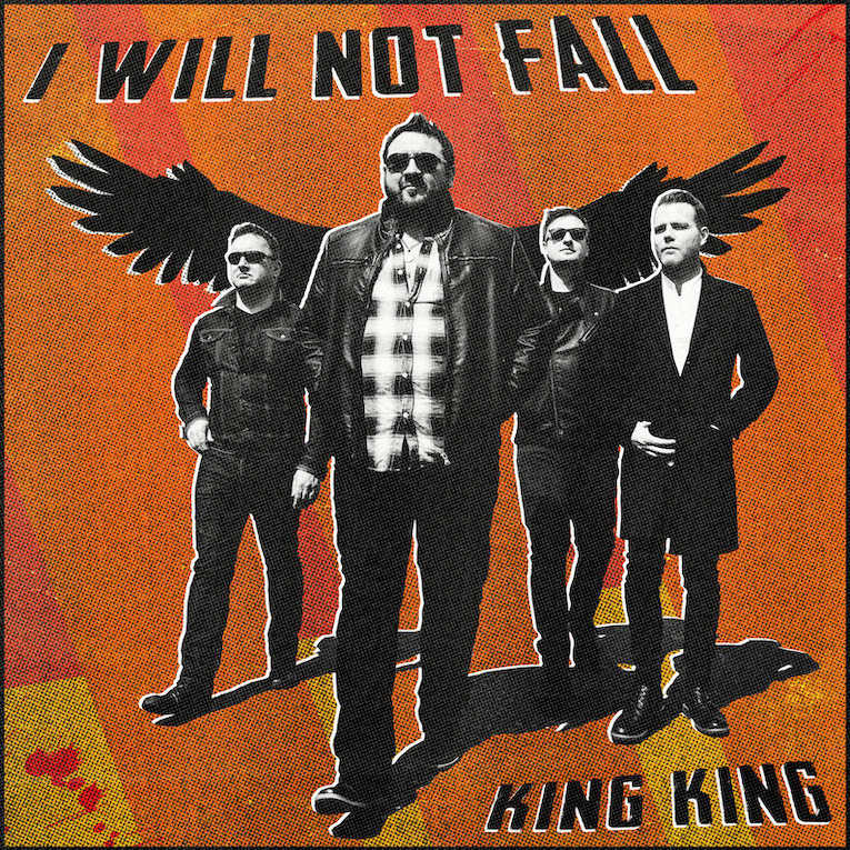 King King, new single release, I Will Not Fall, Rock and Blues Muse