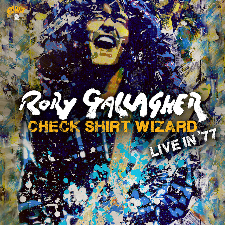 Rory Gallagher Check Shirt Wizard Live In 77, album review, Rock and Blues Muse