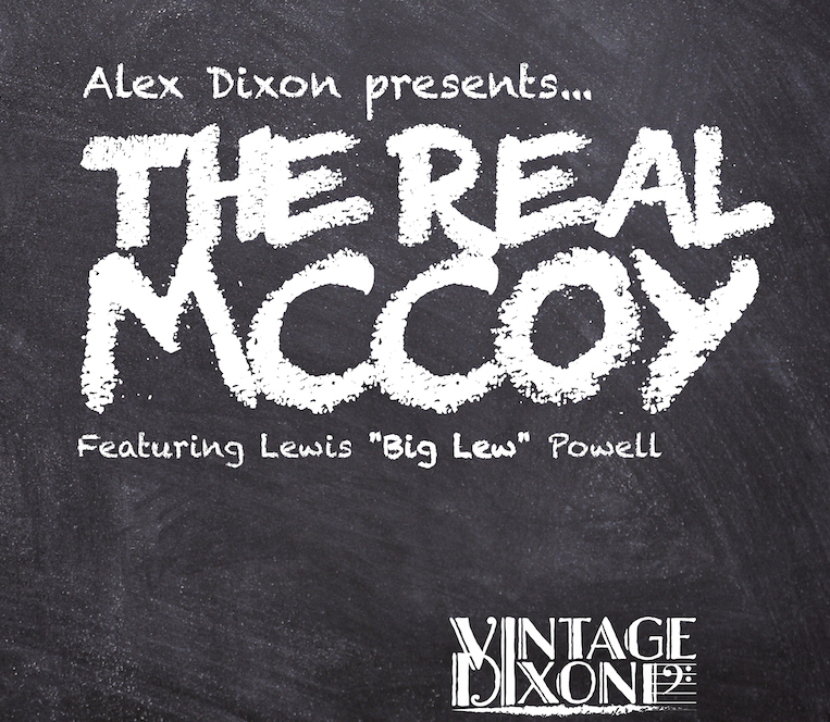 Alex Dixon, The Real McCoy, album review, Rock and Blues Muse