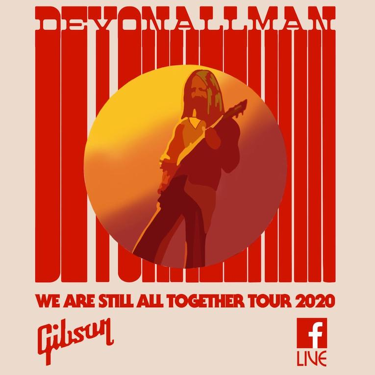 We Are Still All Together Tour 2020 From Devon Allman's House, Devon Allman, live performances, Rock and Blues Muse