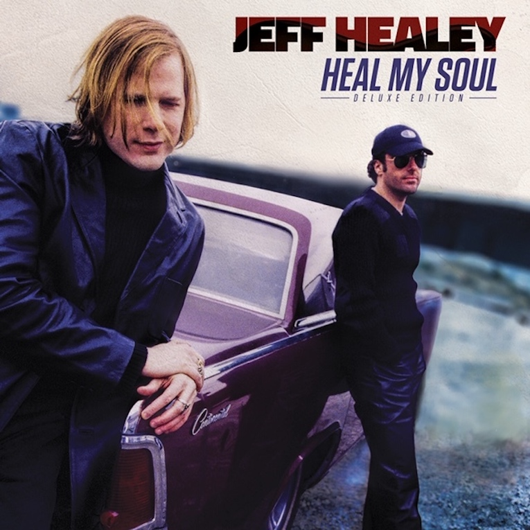 Jeff Healey, Heal My Soul Deluxe Edition, companion album Holding On, Rock and Blues Muse