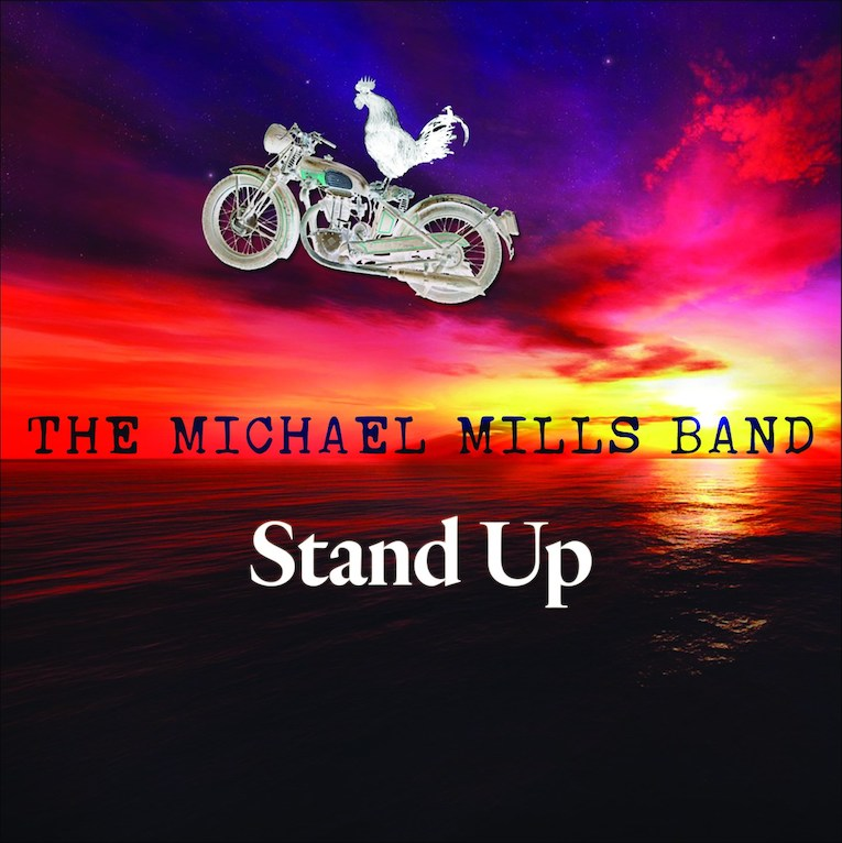 The Michael Mills Band, Stand Up, album review, Rock and Blues Muse