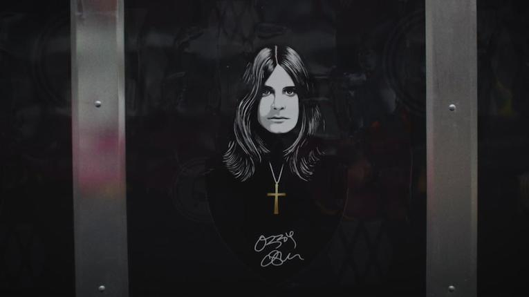 Ozzy Osbourne, Ordinary Man video, Rock and Blues Muse