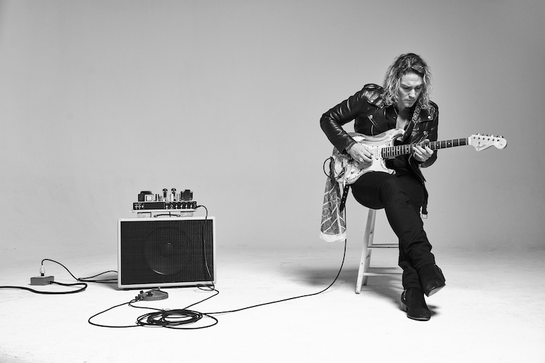 Philip Sayce, video release, Black Roller Coming, Rock and Blues Muse