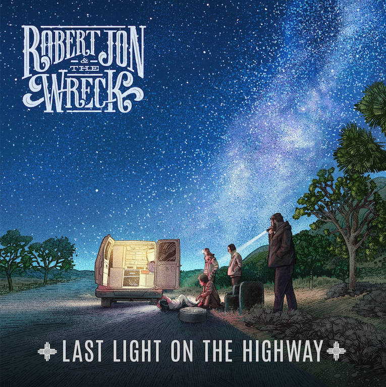 Robert Jon & The Wreck, new album announcement, new single video, Rock and Blues Muse