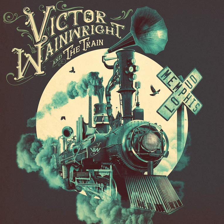 Victor Wainwright and the Train, new album announcement, Memphis Loud, Rock and Blues Muse