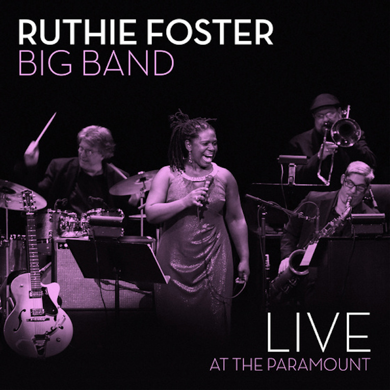 Three-Time Grammy Nominee Ruthie Foster, new album announcement, Live At The Paramount, Rock and Blues Muse