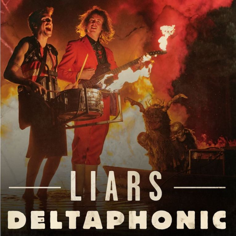 Deltaphonic, video premiere, Liars, Rock and Blues Muse