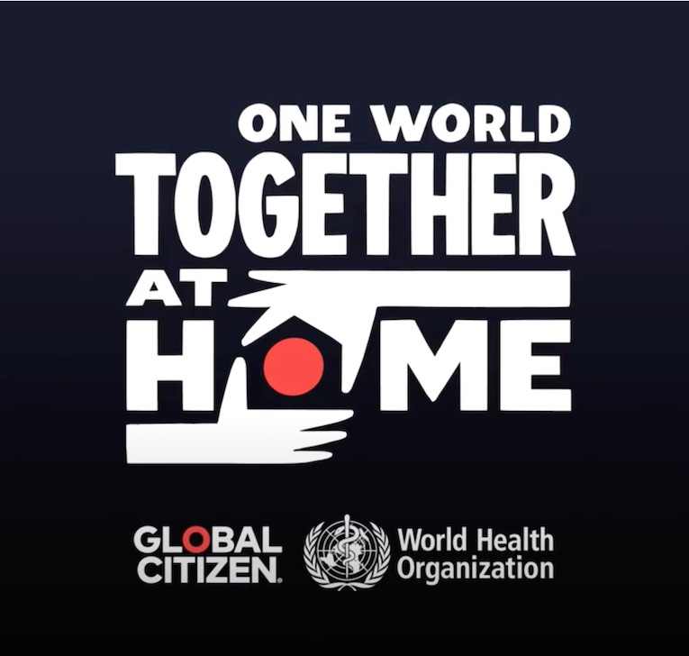 One World Together At Home, Global Citizen, Live Event, April 18th, Rock and Blues Muse