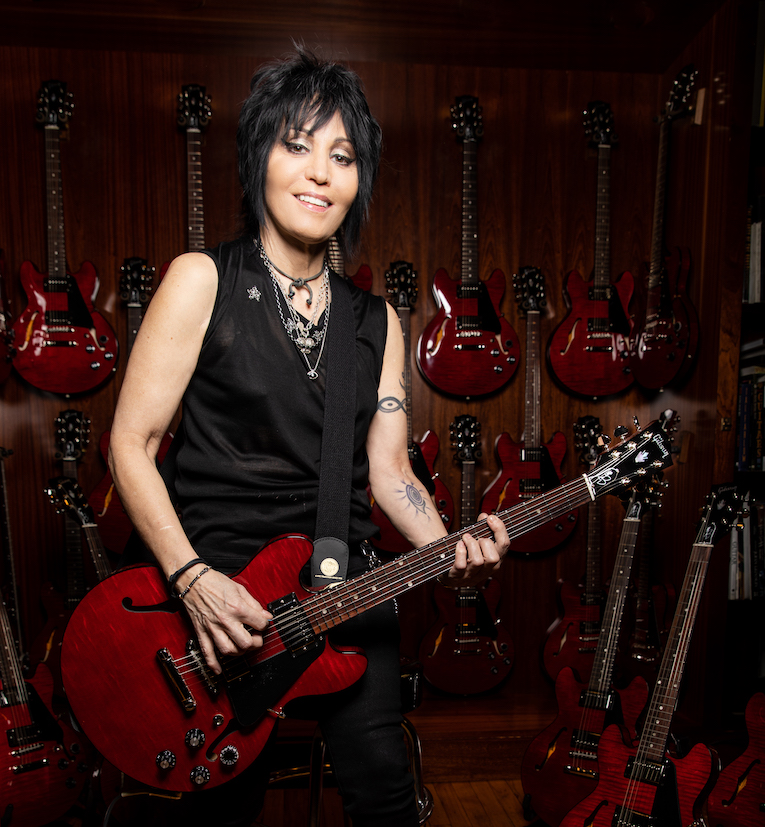 Joan Jett to Perform on Rolling Stone's 'In My Room' IGTV Series April 24, donates autographed Gibson Joan Jett ES 339 Guitar, Rock and Blues Muse