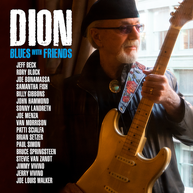 Dion, Blues With Friends, New album announcement, new single, Blues Comin' On, Rock and Blues Muse