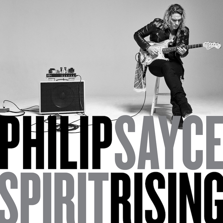 Philip Sayce, Spirit Rising, album review, Rock and Blues Muse