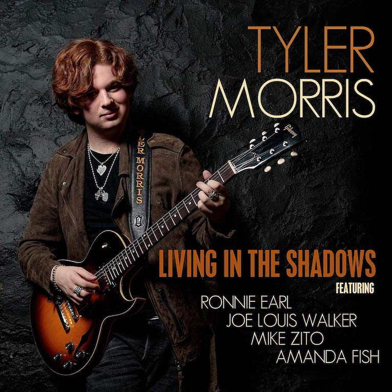 Tyler Morris, Living In The Shadows, album review, Rock and Blues Muse