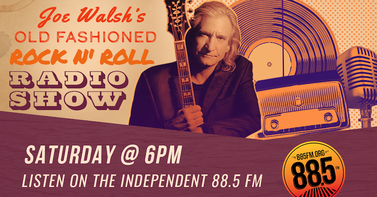 Joe Walsh, Old Fashioned Rock n' Roll Radio Show, 88.5 FM, May 23rd 6pm debut, Rock and Blues Muse