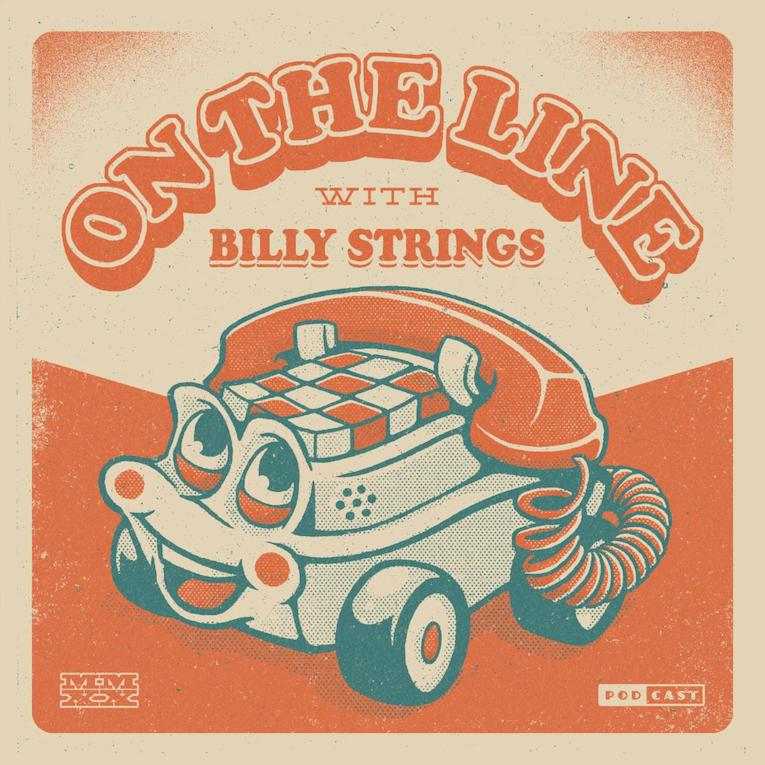 Billy Strings, bluegrass guitarist, new podcast series announcement, On The Line With Billy Strings, Monday May 25, Rock and Blues Muse