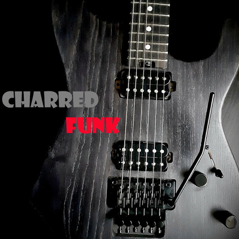 Hard Rock Power Trio Charred Funk Release Self-Titled EP, Charred Funk, Rock and Blues Muse