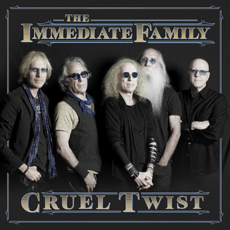 "The Immediate Family, debut single release, ""Cruel Twist"", Rock and Blues Muse4"