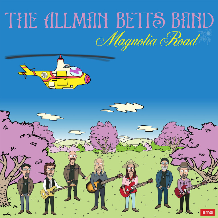 Allman Betts Band, single release, Magnolia Road, Bless Your Heart, Rock and Blues Muse