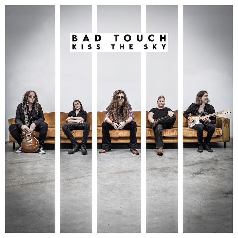UK rock band, Bad Touch, Kiss The Sky, album review, Rock and Blues Muse