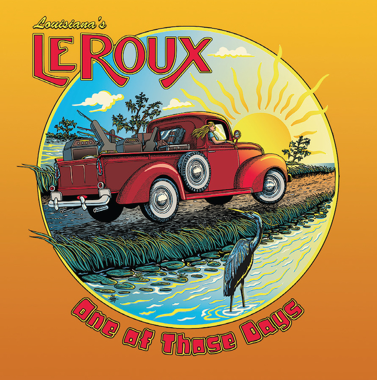 Louisiana's LeRoux, One of Those Days, album review, Rock and Blues Muse