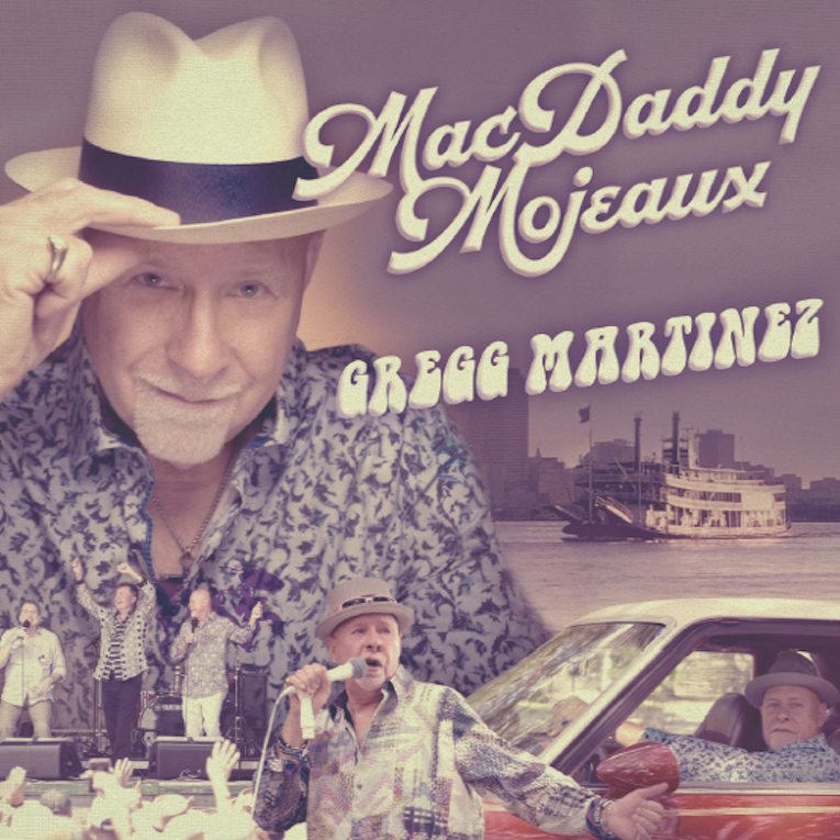 MacDaddy Mojeaux, Gregg Martinez, album review, Rock and Blues Muse