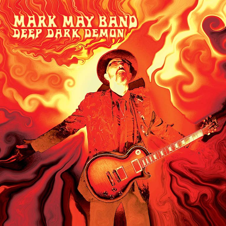 Mark May Band, Deep Dark Demon, album review, blues rock, Rock and Blues Muse