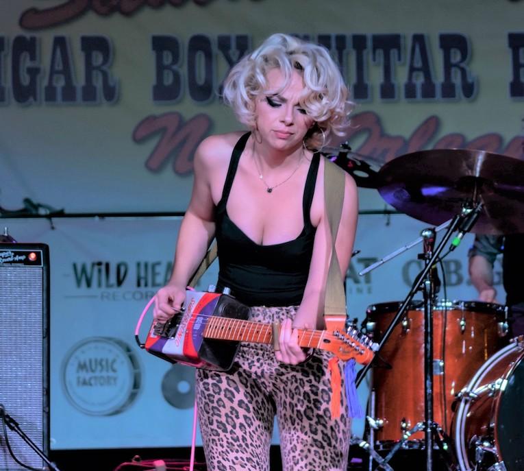 The Samantha Fish International Cigar Box Video Playoffs, Rock and Blues Muse