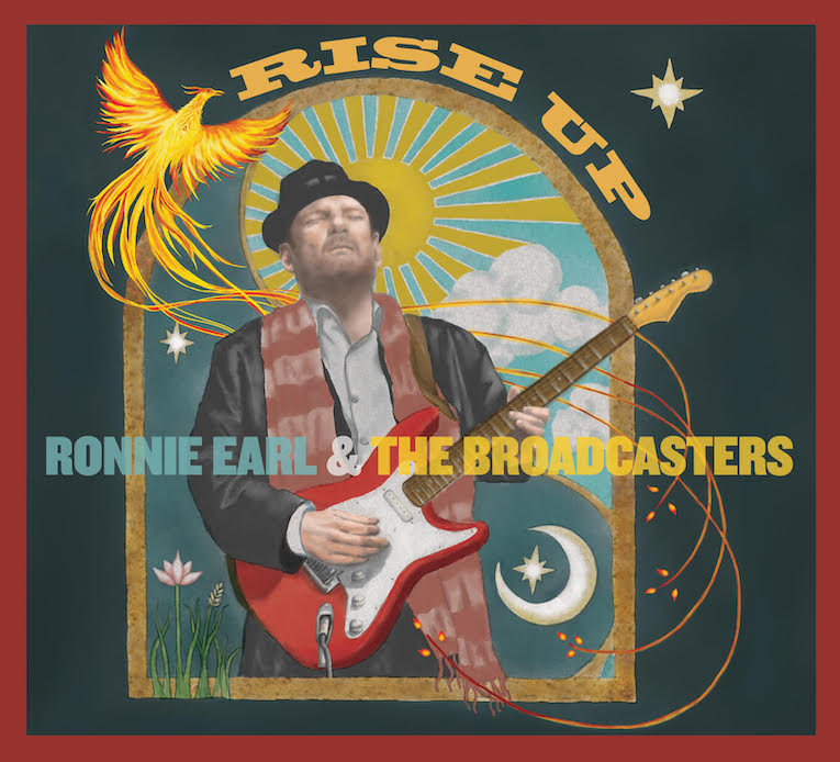 Ronnie Earl & The Broadcasters, new album announcement, 'Rise Up', out September 11 2020, Rock and Blues Muse