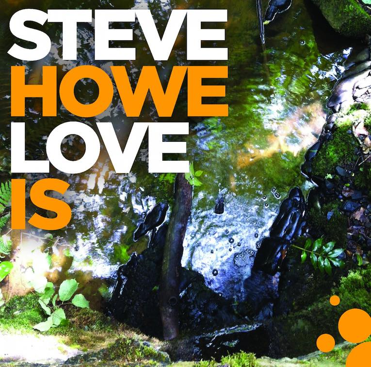 Steve Howe, Love Is, album review, Rock and Blues Muse