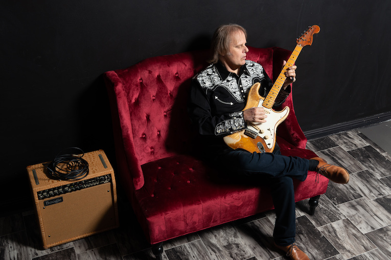 Walter Trout, Provogue Records, new lyric video release, All Out Of Tears, Ordinary Madness, Rock and Blues Muse