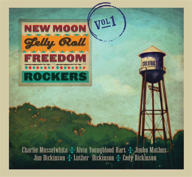 New Moon Jelly Roll Freedom Rockers' Vol 1 album cover
