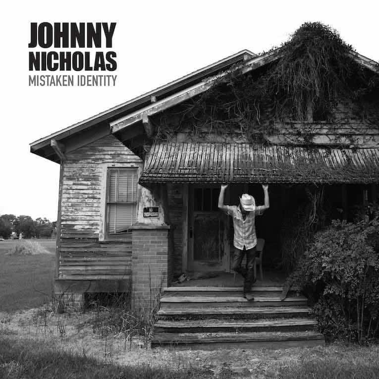 Johny Nicholas Mistaken Identity album cover