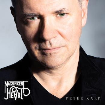 Peter Karp Magnificent Heart album cover